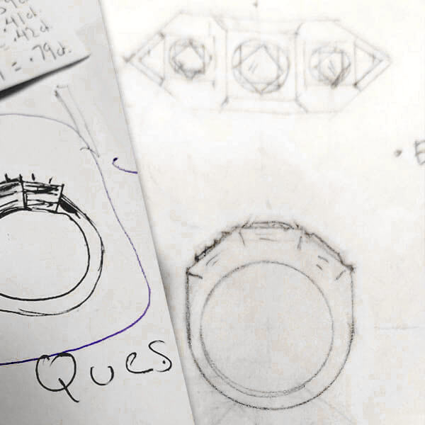 Custom Designs and Fabrication - Sketch of Design